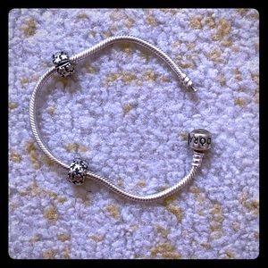 Pandora Bracelet and Spacers